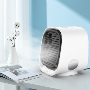 Mini Air Conditioner Cooling Portable Air Cooler Fan Humidifier Purifier For (13)