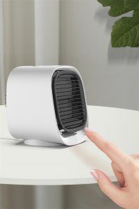 Mini Air Conditioner Cooling Portable Air Cooler Fan Humidifier Purifier For (16)