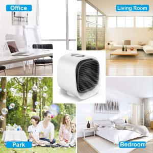 Portable Air Conditioner Mini Air Cooler Multi_Function Humidifier Pur (19)