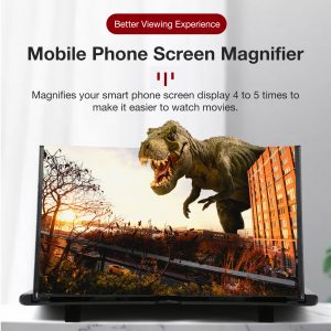 16 inch Mobile Phone Screen Magnifier 3D Enlarger Magnifying Video Ampl (2)