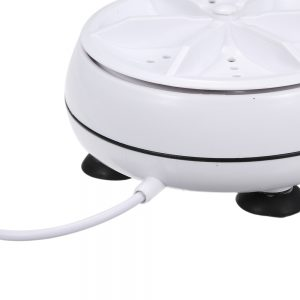 2 in 1 Portable Mini Washing Machine Ultrasonic Washer with USB Cable Convenient for Travel (22)