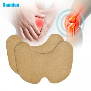 Sumifun 6pcs Knee joint Pain Plaster Chinese Wormwood Extract Sticker for (18)